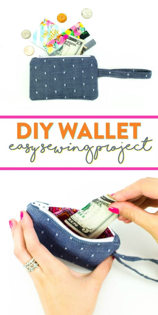 DIY Wallet | an easy beginner sewing project for everyday use