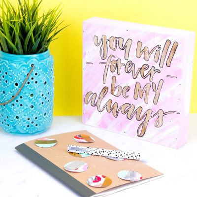 DIY Love Quote Room Decor thumbnail