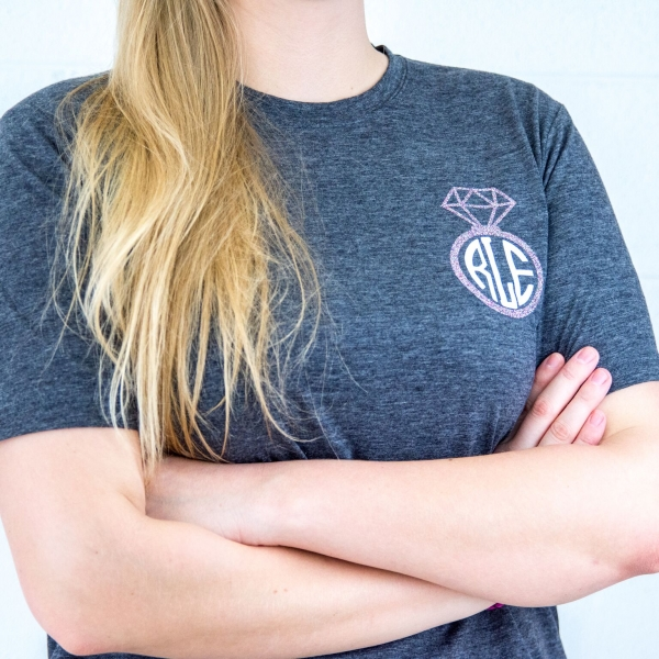Easiest Way To Make a Monogram with Your Cricut