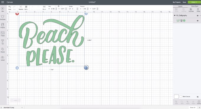 How To Use Iron-On With Your Cricut Maker And EasyPress