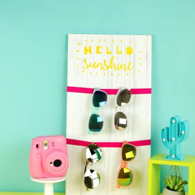 Hello Sunshine Sunglass Holder – Teen Summer Craft thumbnail