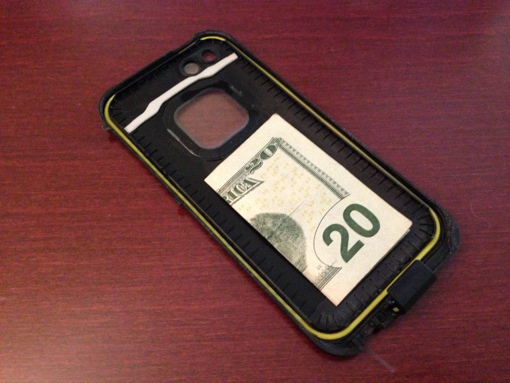 Hide Bill in a Cellphone Case