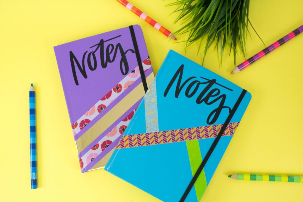 Drab to Fab DIY Notebooks