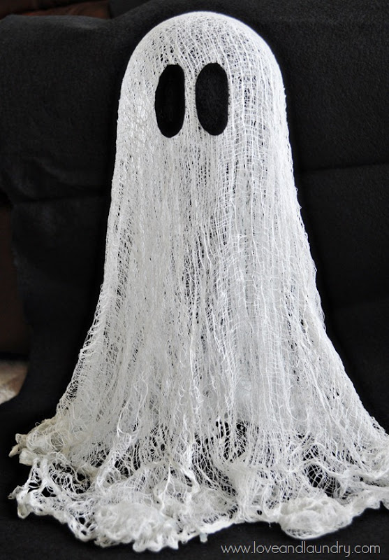 Floating {Cheesecloth} Ghost