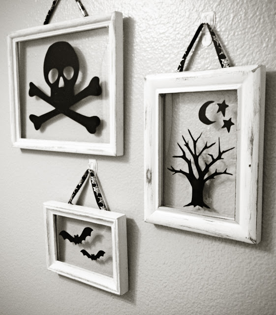Halloween Floating Frames