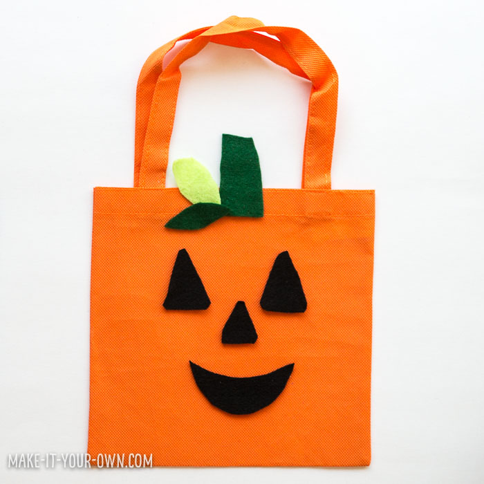 DIY Trick or Treat Bag Ideas