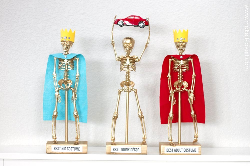 Costume Award Trophies