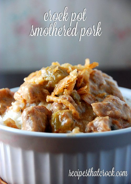 Crock Pot Smothered Pork