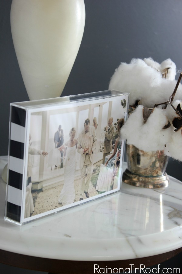 Knock-Off Photo Frame