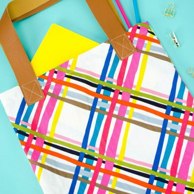 DIY TOTE BAG PATTERN- How to Sew a Tote Bag thumbnail