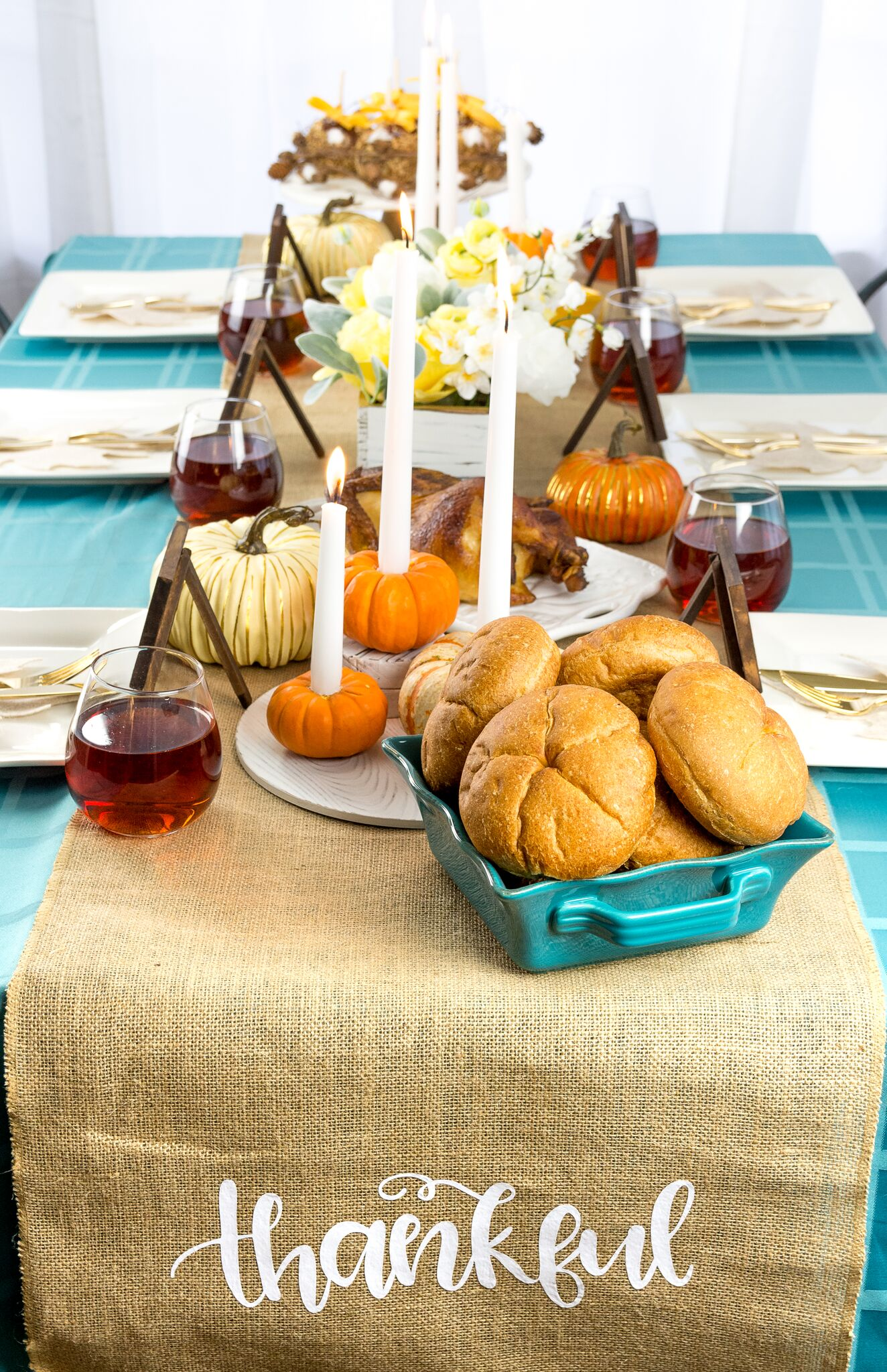 Thanksgiving Table Spread