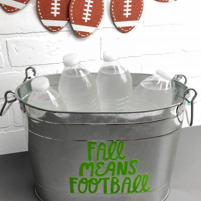 Game Day Craft Idea With Your Cricut thumbnail