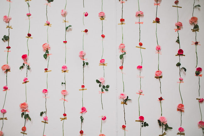 Fresh Flower Wall