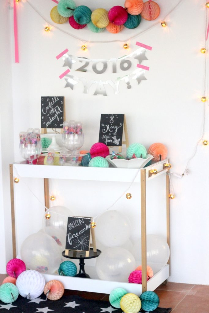 New Years Party Ideas A Little Craft In Your Day