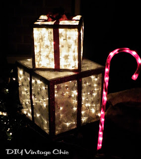Lighted Christmas Presents for Outdoors