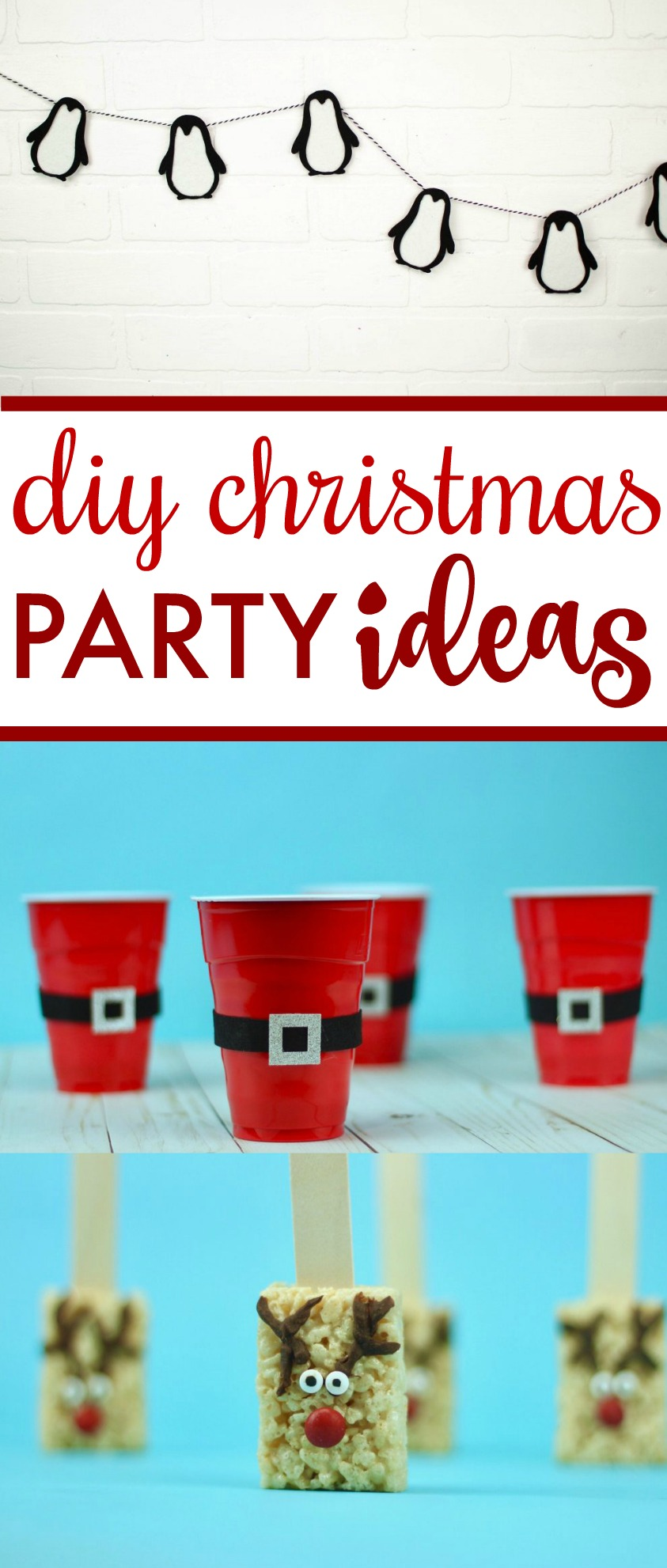 Diy Christmas Party Ideas A Little Craft In Your Day