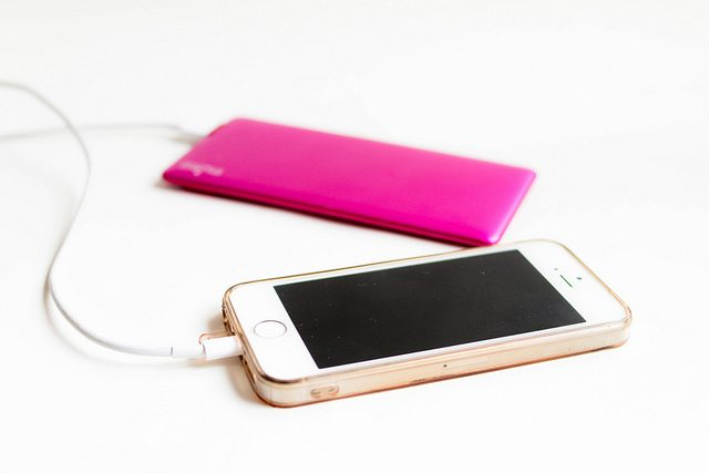 Buy a portable phone charger