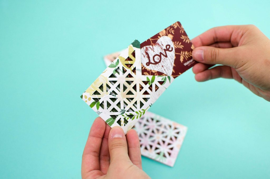 Easy DIY Gift Card Holders