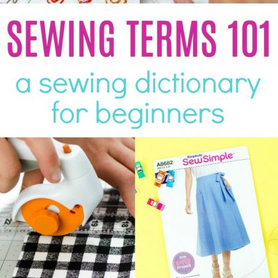 Sewing Terms for Beginners thumbnail