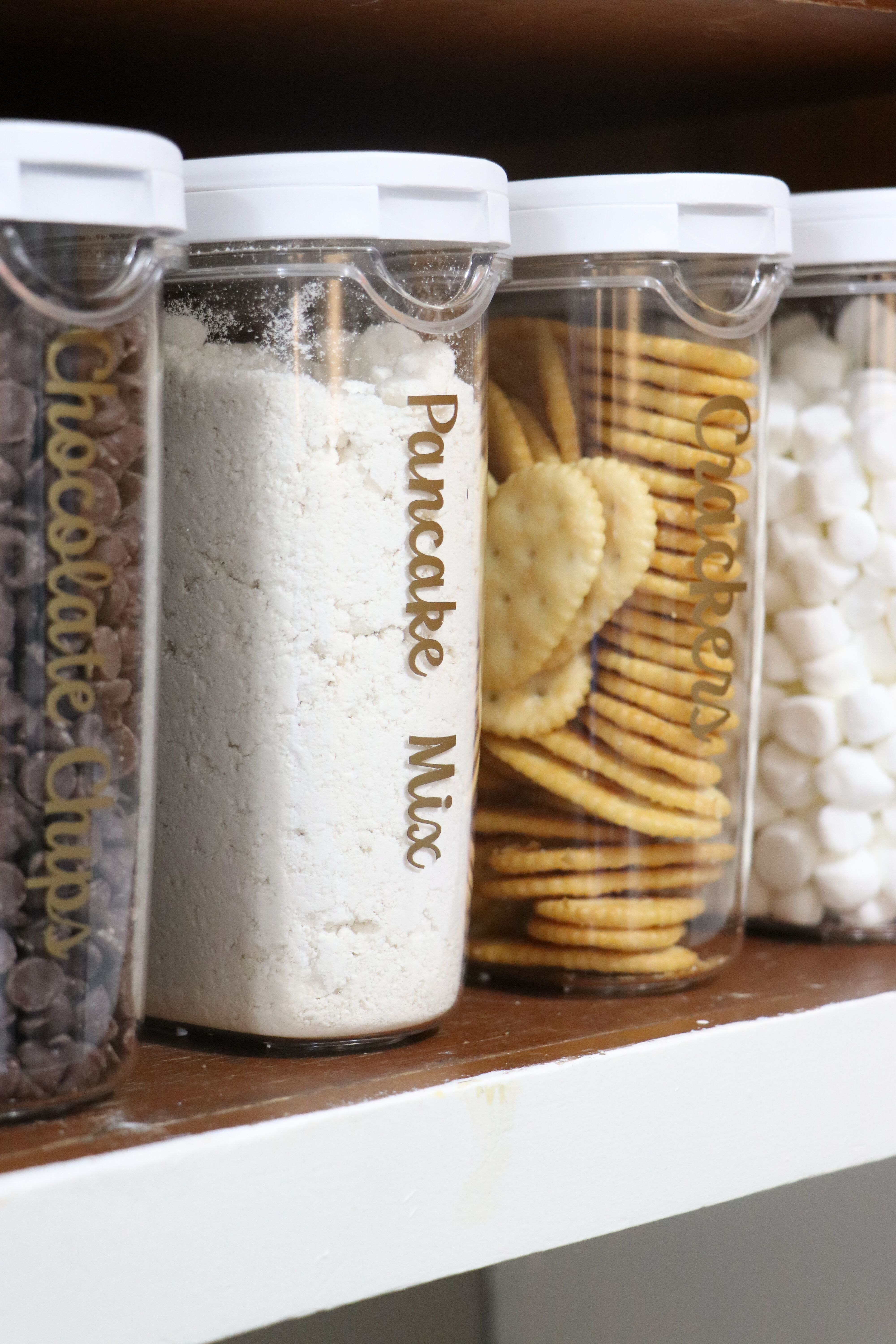 Easy Diy Kitchen Organization With Your Cricut A Little