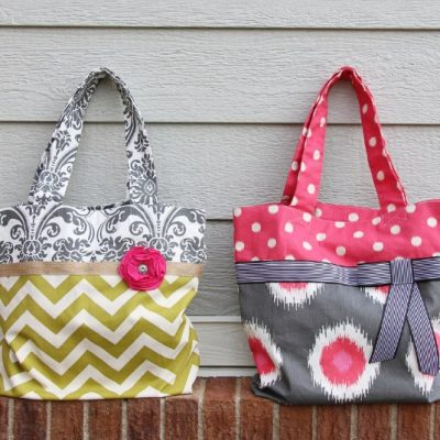 25 Free Tote Bag Patterns thumbnail